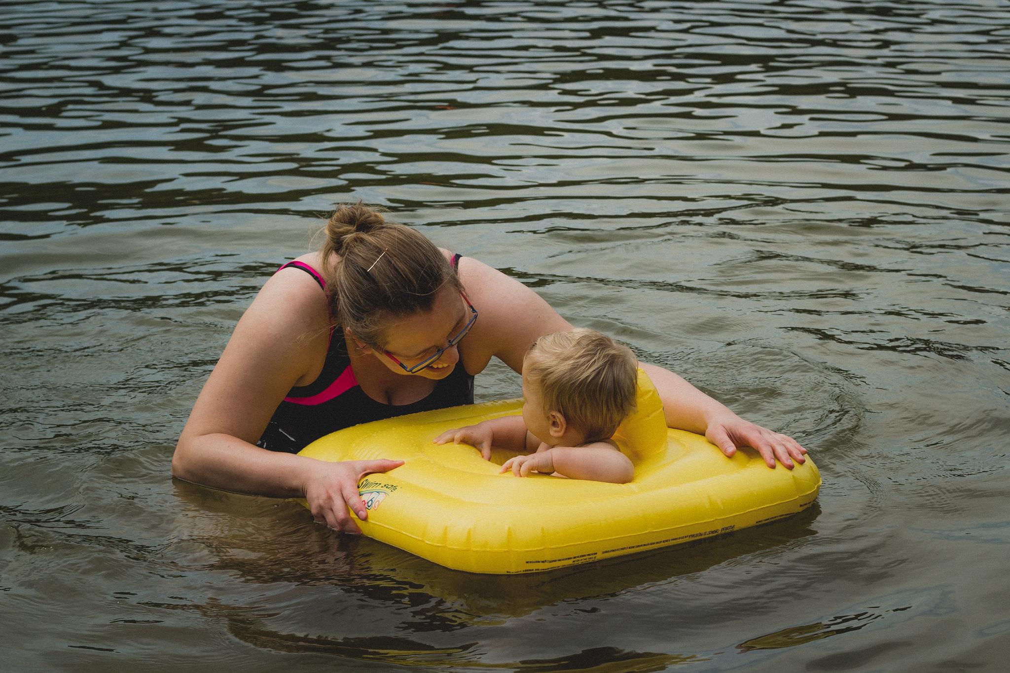 Pierwszy raz w jeziorze