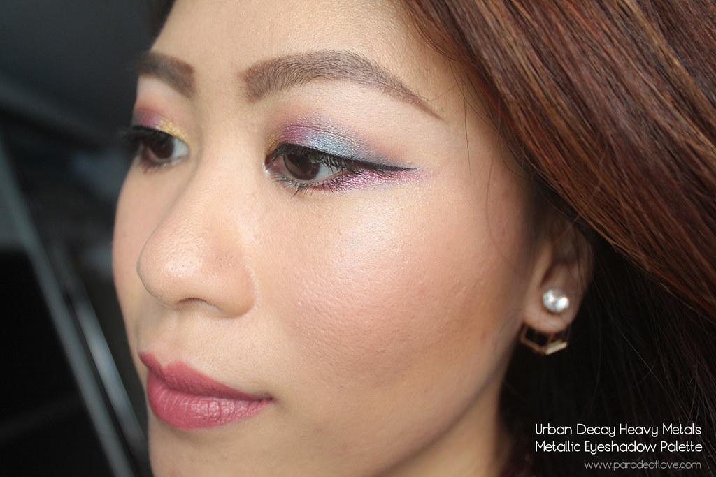 Urban Decay Heavy Metals Metallic Eyeshadow Palette Makeup - Brights_02