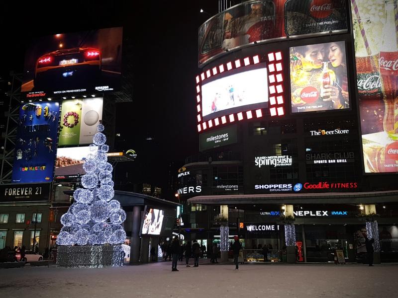 Dundas Square Christmas