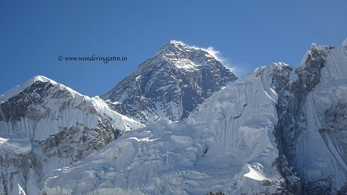 The peak of Everest