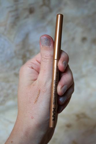 NYX - eyeliner in gold