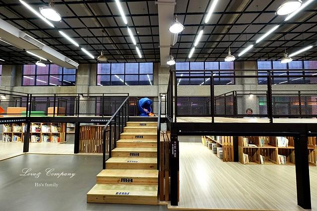 【台北親子免費景點】新北市立圖書館江子翠分館兒童室12