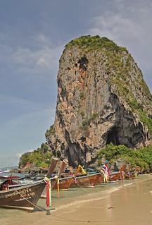 Thailand - Railay - Phra Nang Beach