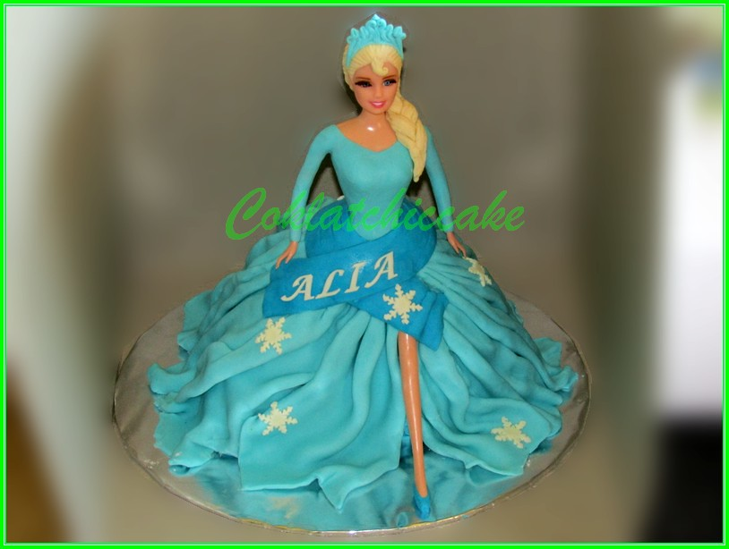 Cake Eksa Disney Frozen ALIA 15cm