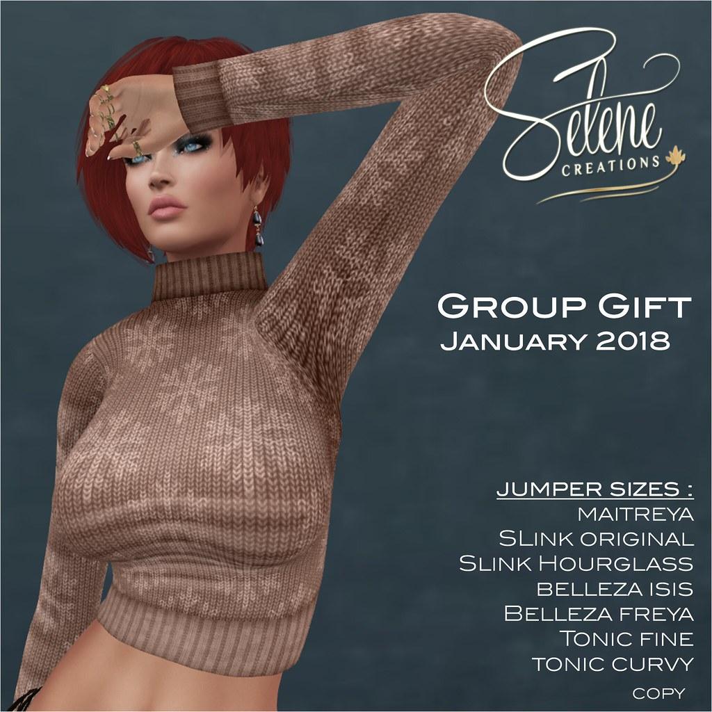 Group gift january 2018 - TeleportHub.com Live!