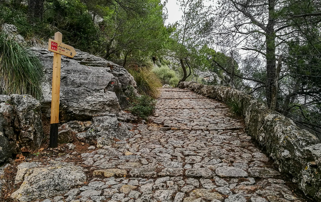 Hiking to Puig de Maria Monastery in Pollensa, Northern Mallorca