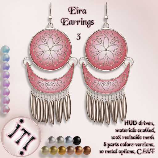 !IT! - Eira Earrings 3 Image - TeleportHub.com Live!