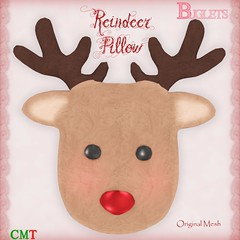 Reindeer Pillow AD