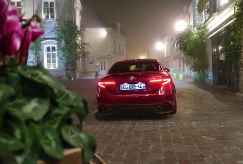 Essai Alfa-Romeo Giulia QV 2017 test drive