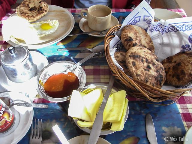 Desayuno en Alchi