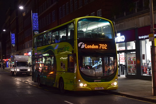 Last day of First on the 702 - First Berkshire 37276/LK58EDL | Route 702 | Kensington High Street