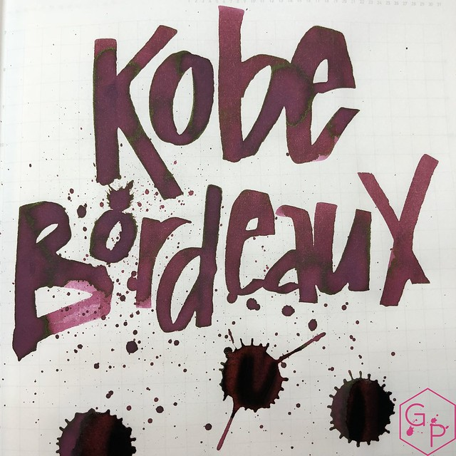 Ink Shot Review Kobe #6 Bordeaux @GoldspotPens 16