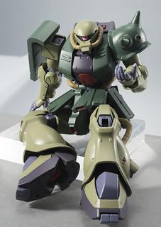 「巴尼--已經不用再戰鬥了!」ROBOT魂《機動戰士鋼彈0080 口袋裡的戰爭》MS-06FZ 薩克II改(ザクII改) ver. A.N.I.M.E.