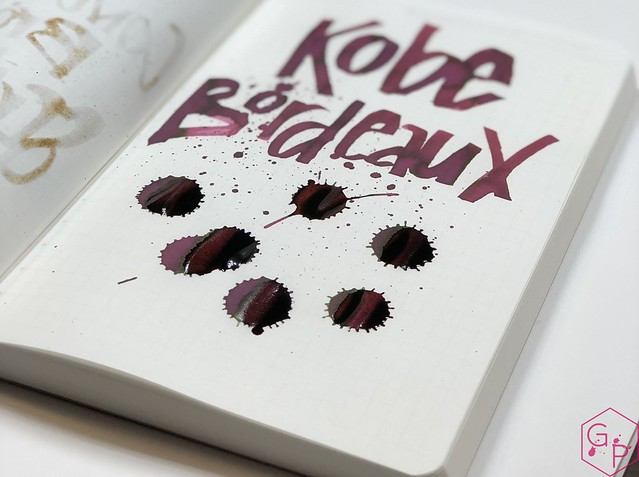 Ink Shot Review Kobe #6 Bordeaux @GoldspotPens 18