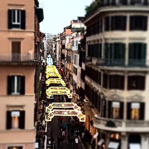 Roma: natale in centro