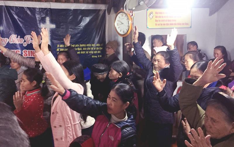 Hội Thánh Nghệ An tổ chức giáng sinh tại Yên Thành có 70 người tham dự