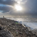 The remnants of Storm Eleanor sweeps past Portland Bill by John Grindle