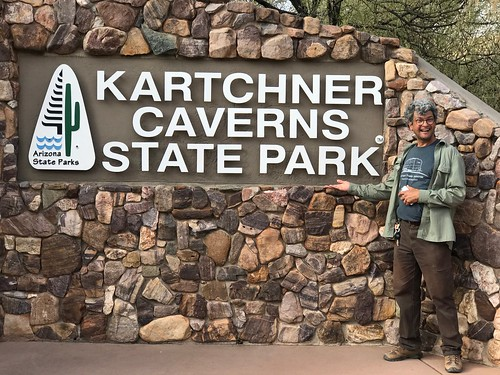 Kartchner Caverns State Park  sign