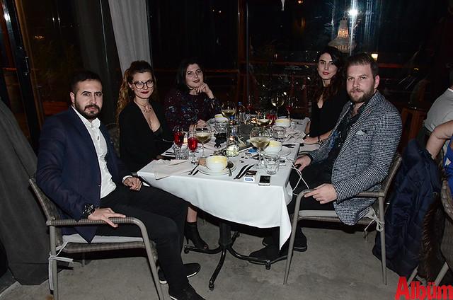 Sinan Atılgan, Duygu Ateş, Bircan Tunç, Deniz Tunç, Mustafa Gürdal Özer