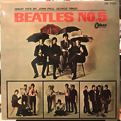 THE BEATLES:THE BEATLES NO.5(JACKET A)