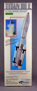Estes Titan III E - Boxed Kit