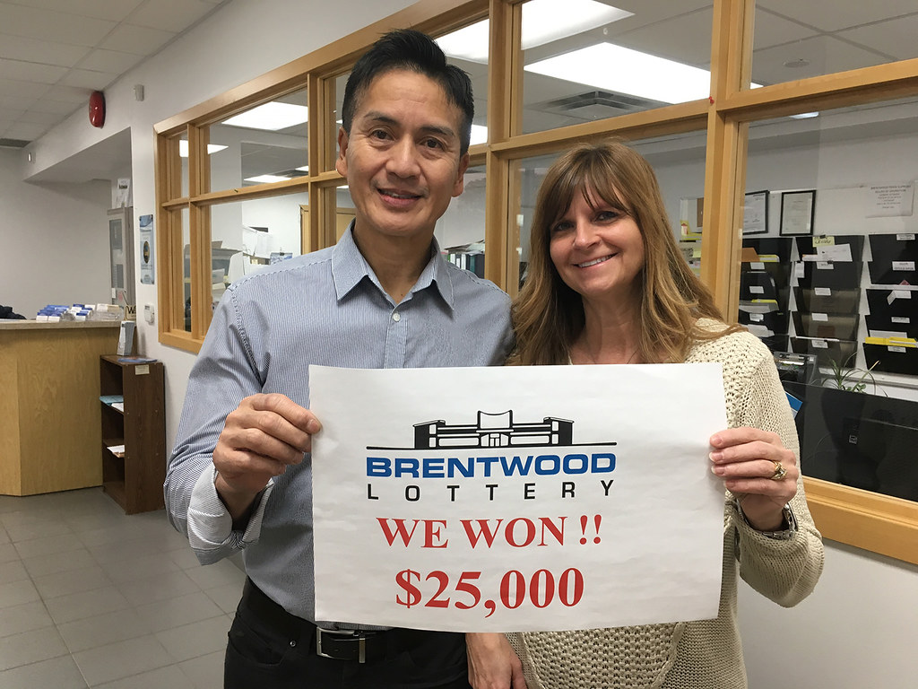 Brentwood Lottery XXVI Early Bird Winners: Tony Lee and Lucille Gervais-Lee