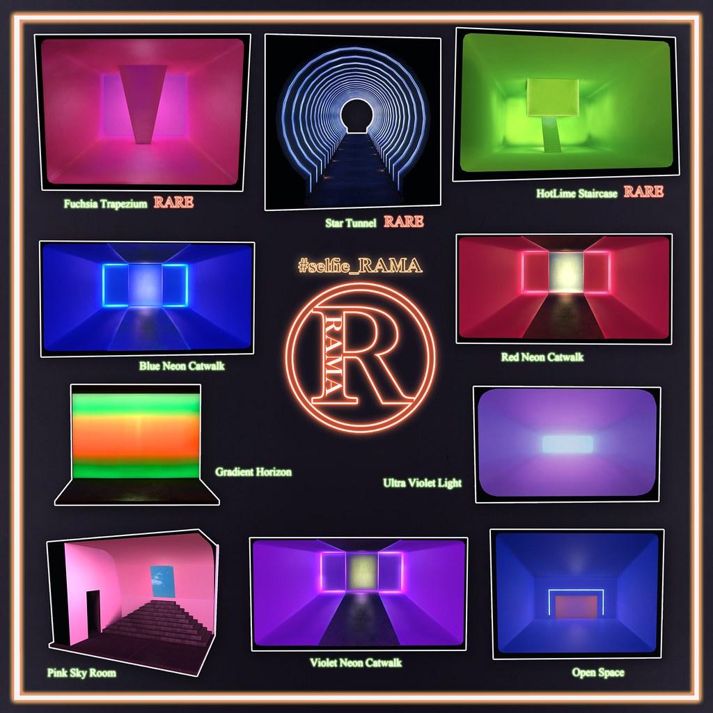#Selfie_RAMA Neon Light ONE - TeleportHub.com Live!