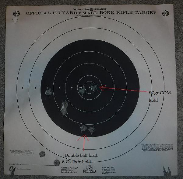 Finally shot my LH 54 Cal Lyman Great Plains Rifle