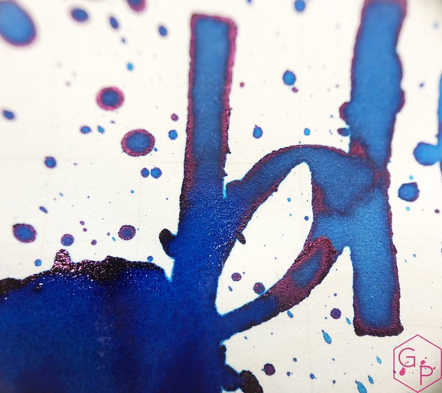 Ink Shot Review @RobertOsterInk Soda Pop Blue @PhidonPens 19