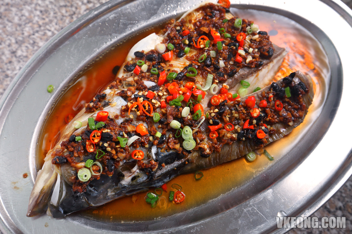 Fatty-Fermented-Black-Bean-Cili-Padi-Steam-Fish