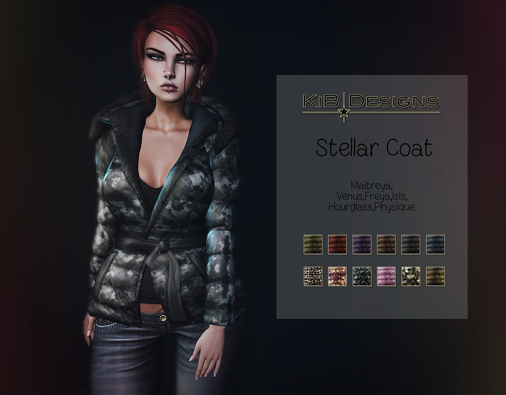 KiB Designs – Stellar Coat @DS