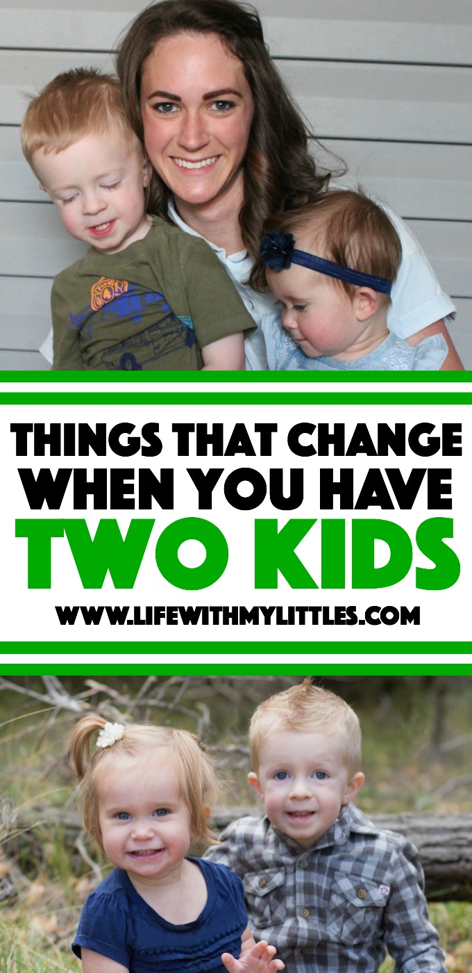 Things that change when you have two kids: a funny look at how things change when your second baby is born