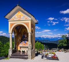 Kapelica at Sv. Lenart, Skofja Loka, Slovenia