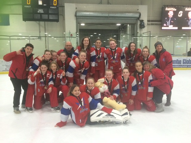 Dec 17, 2017 - Central AB IceBrkr - U14AA Red wins Gold