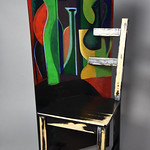 Reed Weimer; Chair with Still Life; Item 142 - in SITu: Art Chair Auction