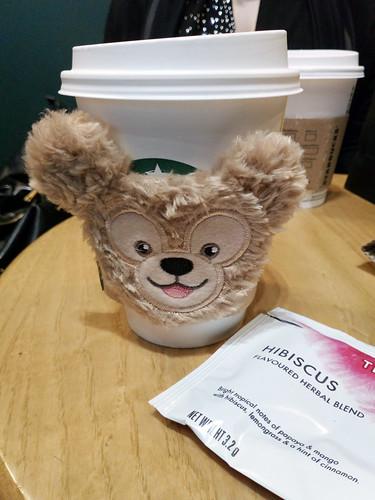 Tea at Starbucks