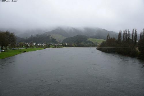 Waikato River at Ngaruawahia