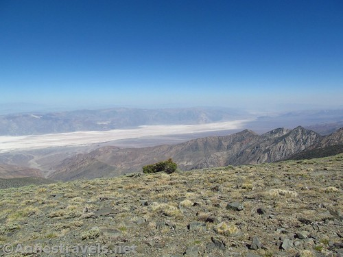 Southern Death Valley from Bennett Peak, Death Valley National Park, California