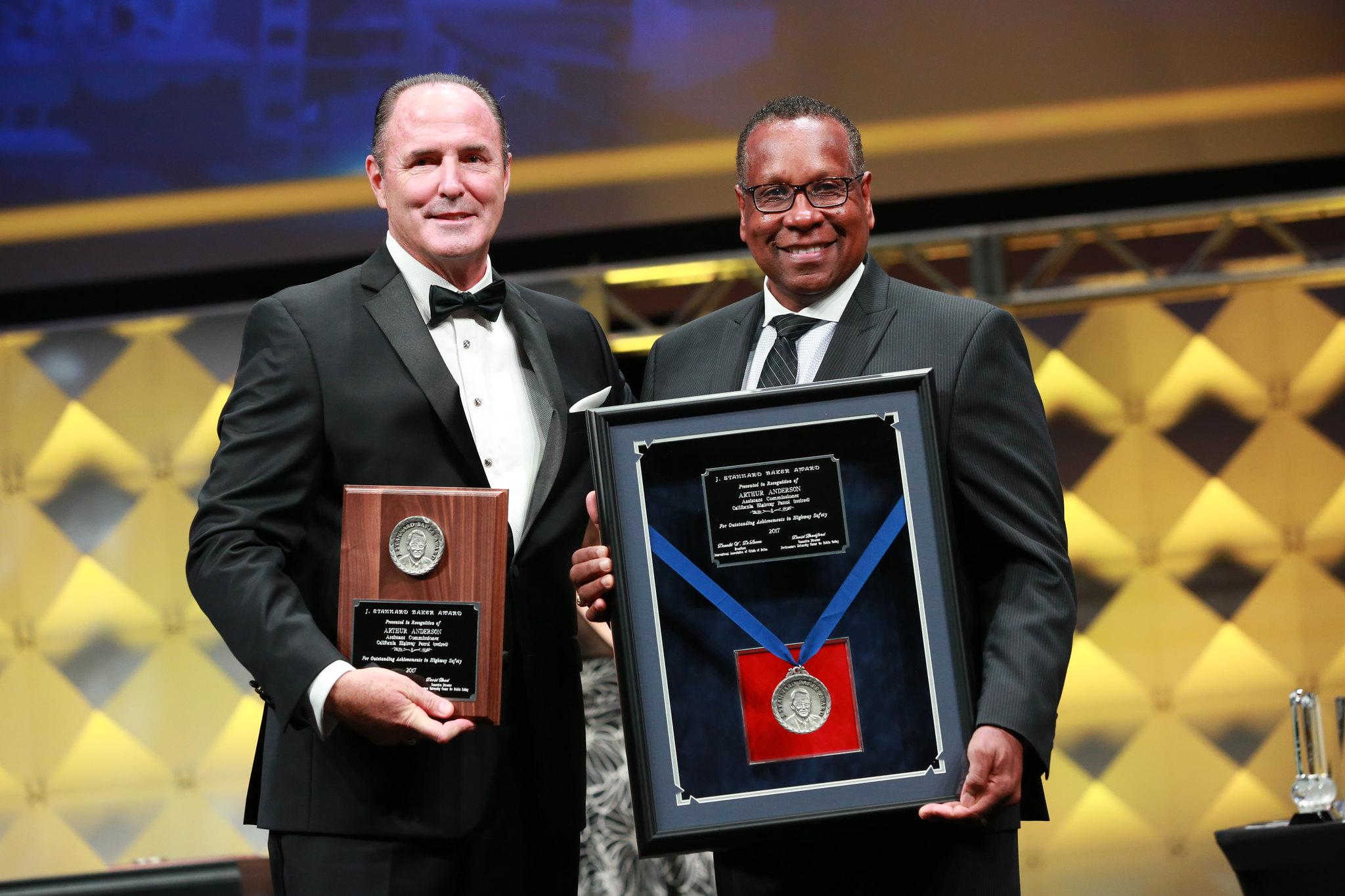 IACP J. Stannard Baker Leadership in Highway Safety Award - Arthur Anderson