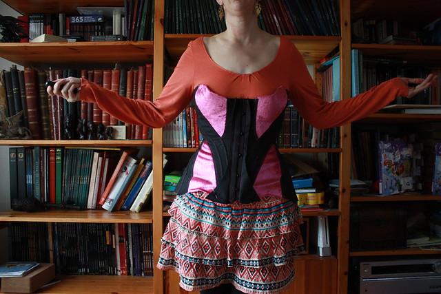 Toile d'essayage de corset