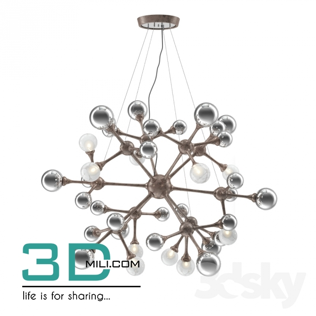 285  Ceiling light 285 3D Models Free Download - 3D Mili