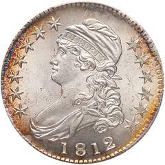 1812 Bust Half Dollar O-103 obverse