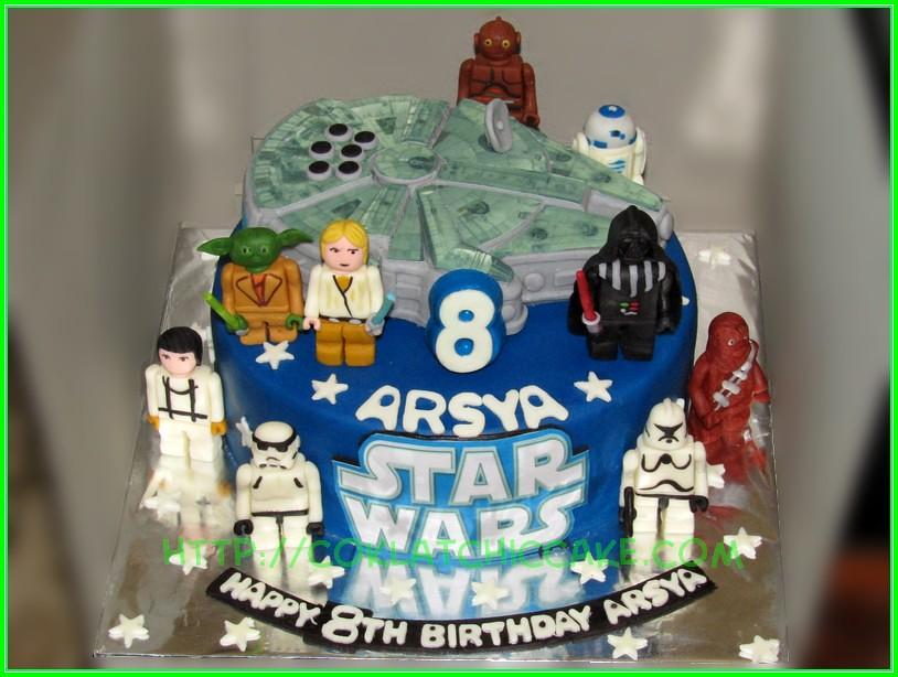 Cake Starwars ARSYA