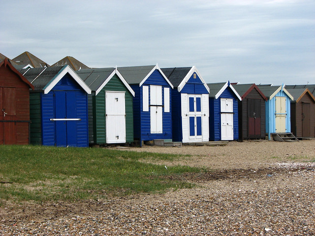 The coast at West Mersea