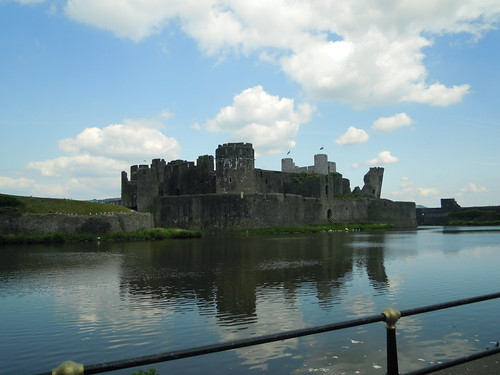 aerphilly Castle. From Studying Abroad in London: The Best Stops in Wales!