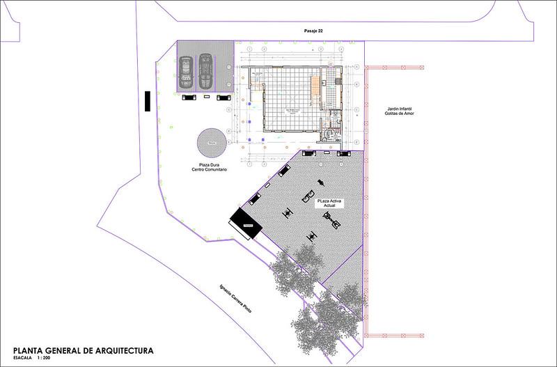 Centro Comunitario - Barrio Alameda – Curanilahue