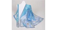 Ručně malovaný šátek