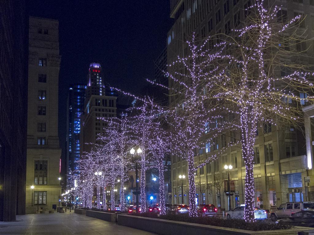 Randolph St. in December