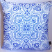 Paisley Pat posted a photo:hand-drawn mosaic bandana design by Patrick Moriarty. Printed on Spoonflower eco-canvas.