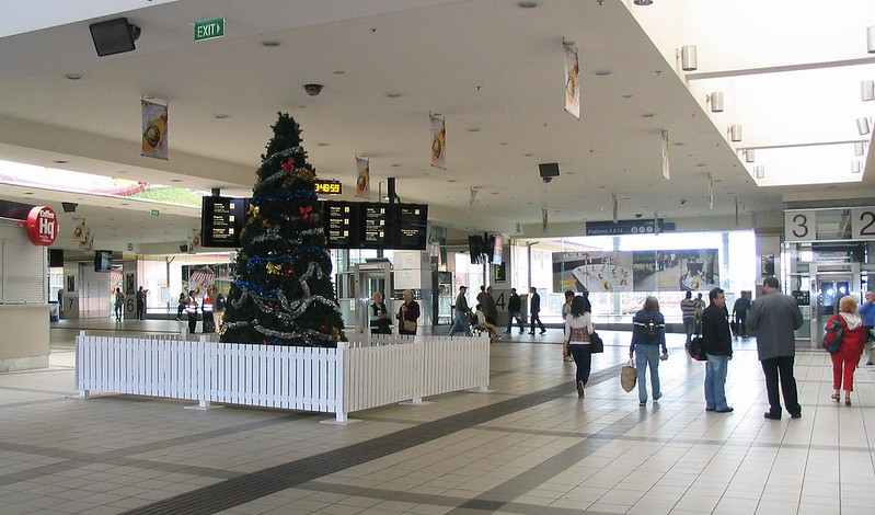 Flinders Street Station, Christmas Day 2007